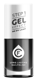 CF Gel Effekt Nagellak - Step 1 - 609. Black
