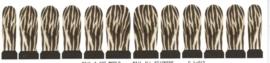 Whole Nail Waterdecal - Zebra