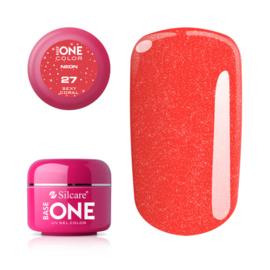 Base One - UV COLOR GEL - Neon - 27. Sexy Coral