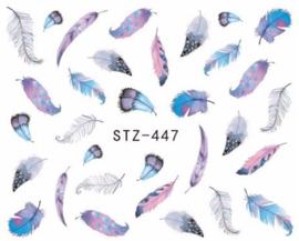 Waterdecals - Summer Feathers