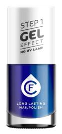 CF Gel Effekt Nagellak - Step 1 - 414. Ocean Blue