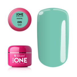 Base One - UV COLOR GEL - Pastel - 05. Dark Mint