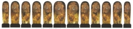 Whole Nail Waterdecal - Lions