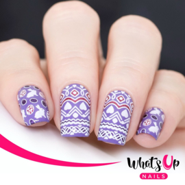 Whats Up Nails - Stamping Plate - B045 Sprung on Spring