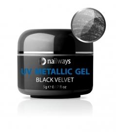 UV METALLIC GEL - Black Velvet