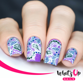 Whats Up Nails - Stamping Plate - A010 Henna Entrancement