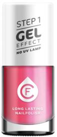 CF Gel Effekt Nagellak - Step 1 - 225. Summer Hot Pink