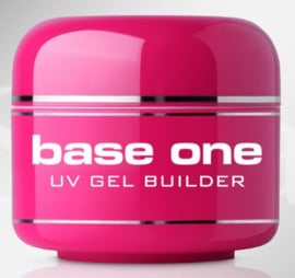 Silcare- Base One - UV GEL Builder - Clear Strawberry  - 30 gram