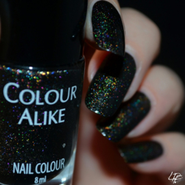 Colour Alike - Nail Polish - BLACK SAINT 2.0 (Ultra Holographic)