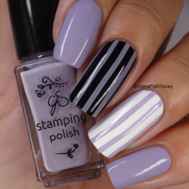 Clear Jelly Stamper Polish - #78 Vintage Lavender