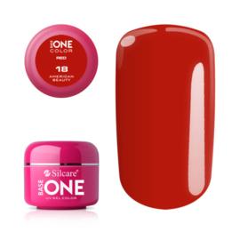 Base One - UV RED GEL - 18. American Beauty