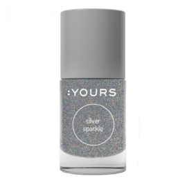Yours Cosmetics - Stamping Polish - 17. Silver Sparkle