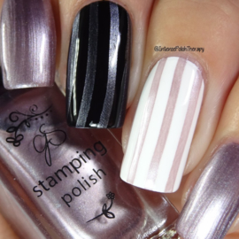 Clear Jelly Stamper Polish - #49 Sand Dunes on Starry