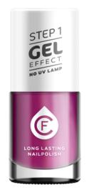 CF Gel Effekt Nagellak - Step 1 - 313. Plum