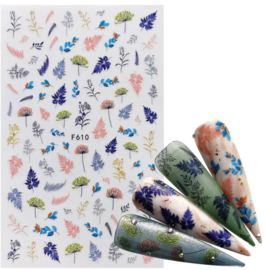 Nailways - Nail Stickers - F610 - Grass