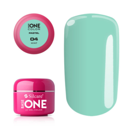 Base One - UV COLOR GEL - Pastel - 04. Mint