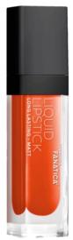 Fanatica - Liquid Lip Color Matt - 2. Coral Riff