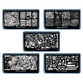 Bundle Monster - Nail Art Stamping Set 451 - Special FX