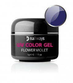 Nailways - NWUVC33 - UV COLOR GEL - Flower Violet