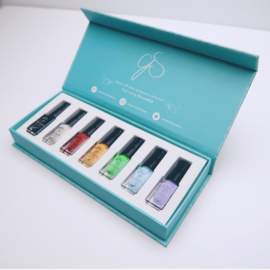 Clear Jelly Stamper - Stamping Polish Kit - Starterkit (7 Colours)