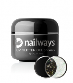 Nailways - NWUVGL03 - UV GLITTER GEL - Phoenix