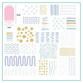 Clear Jelly Stamper - Medium Stamping Plate - CJS_146 - My Main Squiggl