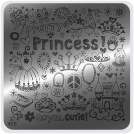 Moyou Nail Fashion - Stamping Plate - Trendy Style - 459