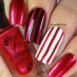 Clear Jelly Stamper Polish - #63 Scarlet Letter