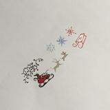 Clear Jelly Stamper - Stamping Plate - CJS_C04 - Santa's Sleigh Christmas
