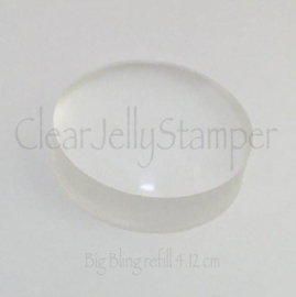 Clear Jelly Stamper - Replacement Jelly - Big Bling