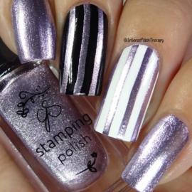 Clear Jelly Stamper Polish - #35 Paula's Pixie Purple