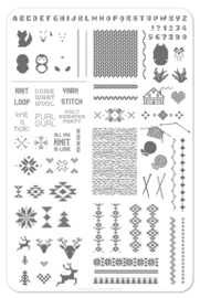 Clear Jelly Stamper - Big Stamping Plate - CJS_C15 - Purl Gurl