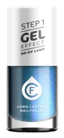 CF Gel Effekt Nagellak - Step 1 - 402. Sea Blue