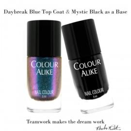 Colour Alike - Nail Polish - Topcoat - 729.  Daybreak Blue