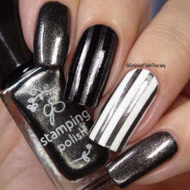 Clear Jelly Stamper Polish - #92 Lust in the P.M.
