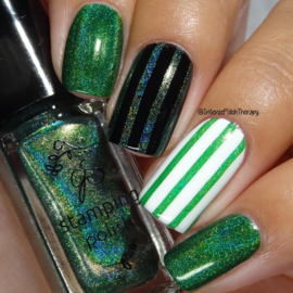 Clear Jelly Stamper Polish - Holo 01