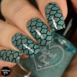UberChic - Big Nail Stamping Plate - Moroccan Delight