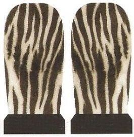 Whole Nail Waterdecal - Zebra