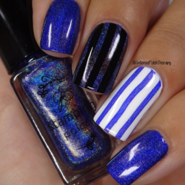 Clear Jelly Stamper Polish - Holo 05