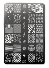 UberChic Beauty - Nail Art Stamping Plates – Collection 26