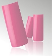 Roze Nagel Tips in Box - 100 stuks
