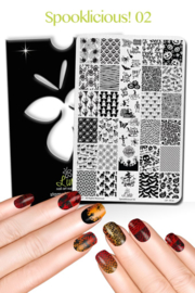 Lina - Stamping Plate - Spooklicious - 02