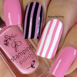 Clear Jelly Stamper Polish - #71 Flirty Flamingo