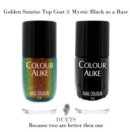 Colour Alike - Nail Polish - Topcoat - 727. Golden Sunrise