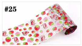 Exclusieve Foil #25 - Strawberry