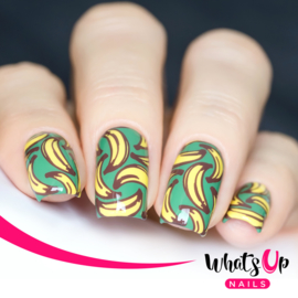Whats Up Nails - Stamping Plate - B008 Summer Seeds