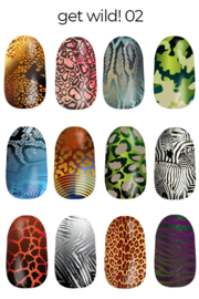 Lina - Stamping Plate - Get Wild! - 02