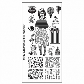 Bundle Monster - XL Stamping Plate - XL153