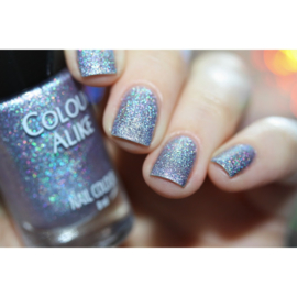 Colour Alike -  Nail Polish - Happy - 635. So Excited (Ultra Holographic)