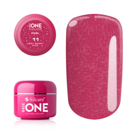 Base One - UV COLOR GEL - Pixel - 11. Very Berry Pink